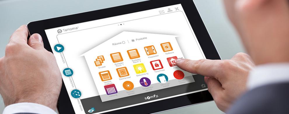 tahoma die smart home app f r mobile endger te. Black Bedroom Furniture Sets. Home Design Ideas
